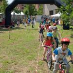 Biciclettando co i bimbi e i Saltafossi